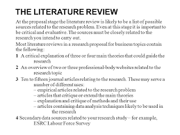 Format Of Review Of Related Literature Academic Writing Services