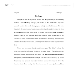 the sniper gcse english marked by teachers com document image preview