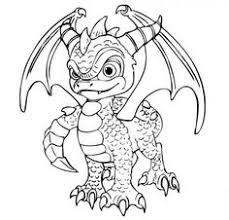 images of dragons to color. Simple Images Skylanders Printable Colouring Pages With Images Of Dragons To Color