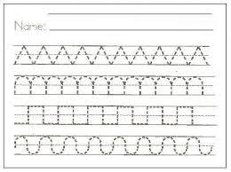 Printable Handwriting Worksheets For Kindergarten Printable