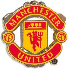 Manchester United Pin Logo Brosche: Amazon.de: Sport & Freizeit