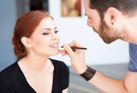 updo makeup