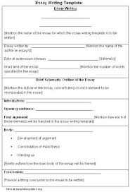 English Essay Format Article Outline Formats For Essays Narrative