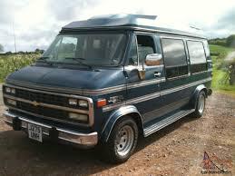 1992 Chevrolet G20 Day Van LPG Camper