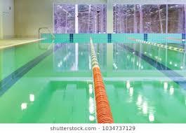 narva joensuu estonia january 21 2018 lap pool with marked lanes