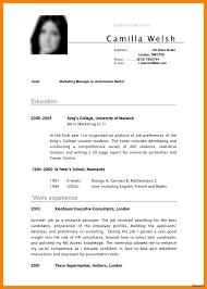 Resume Template Doc Internship Sample Fore Engineering Economic