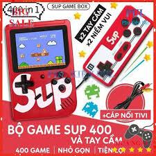 Máy Chơi Game Sup 400 Game Kèm Tay Cầm Chơi Game - 2 Người Chơi