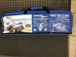 Used 2015-2019 Gmc Canyon Chevy Colorado Pickup Bed Tent Napier ...