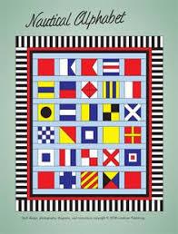 Nautical Alphabet Quilt ePattern | quilts island | Pinterest ... & Nautical Alphabet Quilt ePattern Adamdwight.com