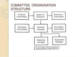 Committee Organization Chart Organisation Organisation Structures