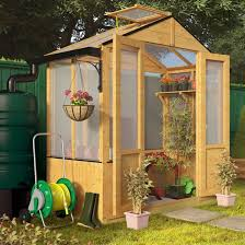 billyoh 4000 3x6 polycarb wooden greenhouse opening window