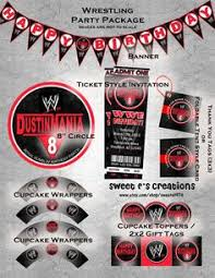 Small Picture WWE Party Favors Free Logo Printable wwwpiggyinpolkadotscom