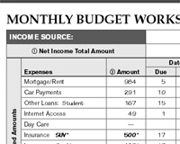 Free Budget Download Free Printable Budgeting Forms Pdf Money Tracker