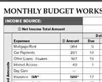 Budget Forms Pdf Free Printable Budgeting Forms Pdf Money Tracker