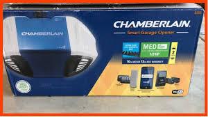 how to install chamberlain b550 wifi garage door opener control with smartphone part 3