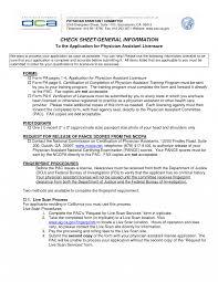 Narrative Resume Sample Best Photos Physician Assistants Format