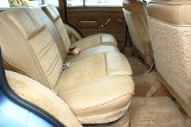 1988 jeep grand wagoneer rear seat view