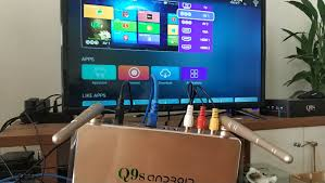 Đầu Android tivi box Q9s Kèm Chuột siêu bền- tivi, video 4K, âm thanh trung  thực. giá rẻ 456.700₫