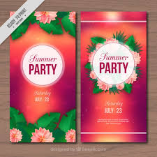 Summer Party Flyers Summer Party Flyers Tirevi Fontanacountryinn Com