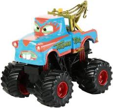 Disney Monster Truck Mater 5 Pc. Deluxe Figure Set: Pixar Cars Toon ...