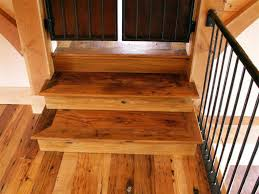 Reclaimed Chestnut Stair Treads and Risers