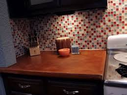 How To Install Glass Mosaic Tile Backsplash Video