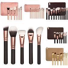 15pcs pro makeup brushes set powder foundation eyeshadow eyeliner lip brush tool