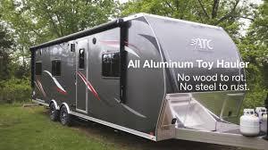 atc aluminum toy hauler