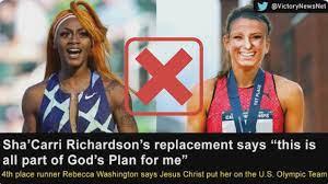 replacing Sha'Carri Richardson ...