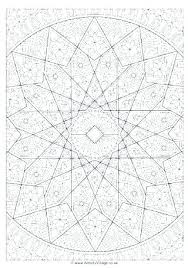 Islamic Art Coloring Pages Art Coloring Pages Islamic Art Coloring