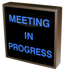 38699 Sbl1212b A267 Meeting In Progress Led Signs Interior