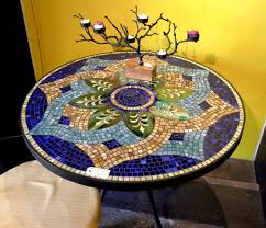 mosaic designs for round tables