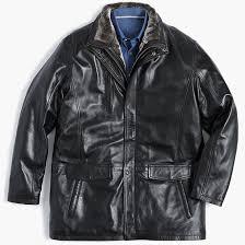 lambskin leather stroller jacket