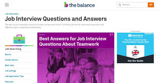 10 best websites you should follow for interview questions and answers the balance com is a site which has choke full of articles on every subject they also have a section dedicated to job interview questions and answers
