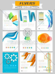 Presentation Flyers Set Of Different Professional Flyers And Banners Presentation For Business And Corporate Sector