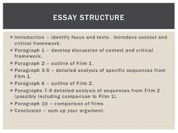 film essay structure essay planning