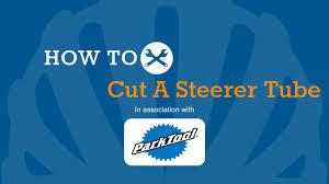 How To <b>Cut</b> Down A <b>Bike</b> Steerer <b>Tube</b> - YouTube