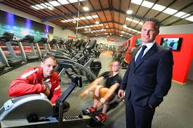 paul pearson of onegym with right jonathan luke of nel