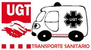 Resultado de imagen de TRANSPORTE SANITARIO UGT