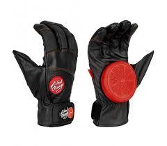 Slide Gloves Blood Orange Leather