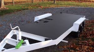 trailer spray on floor coating