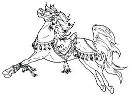 Coloring Pages Horse Coloring Pages That Look Real Horses