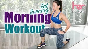 beginner fat burning morning workout