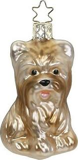 Hund Christborn Figur Christbaumschmuck Neu