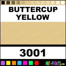Buttercup Yellow Milk Paint Casein Milk Paints 3001