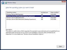 Windows Server 2008 R2 Versions Comparison Chart Windows Server 2016 A Cheat Sheet Techrepublic