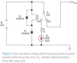 simple reverse polarity protection circuit has no voltage drop edn simple reverse polarity protection circuit has no voltage drop figure 3