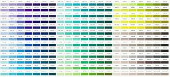 Pantone Color Charts