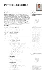 Respiratory Therapist Resume samples - VisualCV resume samples .