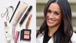 meghan markle makeup bag her favourite beauty s